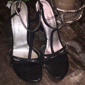 Women's bebe shoes size 7.5